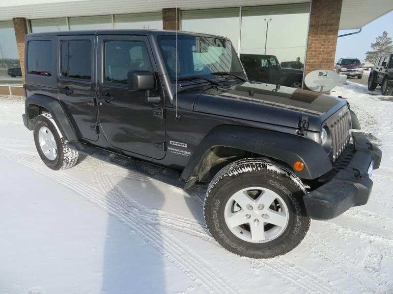 Pre-Owned 2018 Jeep Wrangler Unlimited Sport 4x4 4dr SUV