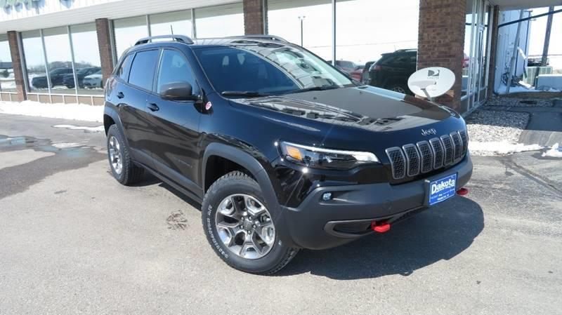 New 2019 JEEP Cherokee Trailhawk 4x4 4dr SUV