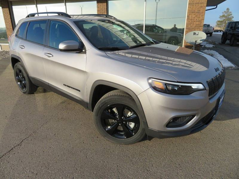 New 2019 JEEP Cherokee Latitude Plus 4x4 4dr SUV