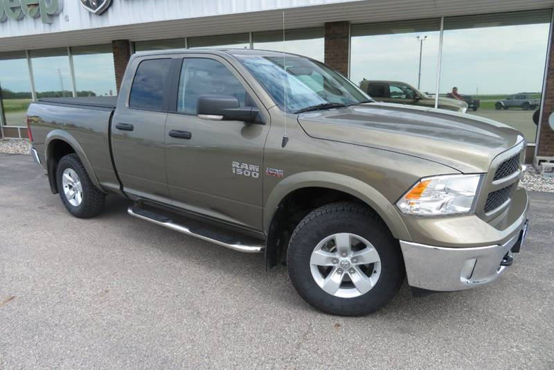 Pre-Owned 2014 RAM Ram Pickup 1500 Big Horn 4x4 4dr Quad Cab 6.3 ft. SB Pickup