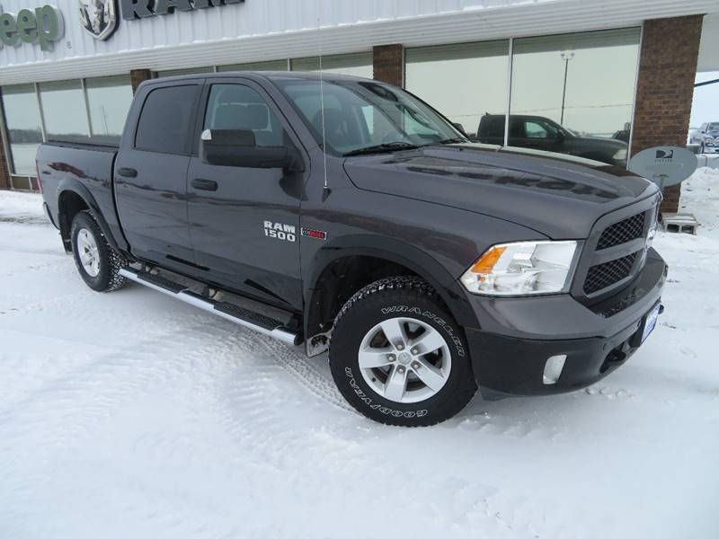 Pre-Owned 2015 RAM Ram Pickup 1500 Outdoorsman 4x4 4dr Crew Cab 5.5 ft. SB Pickup