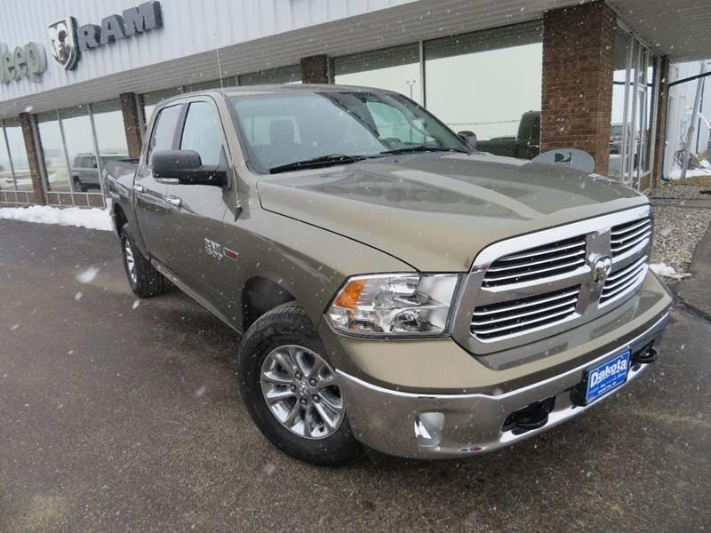Certified Pre-Owned 2015 RAM Ram Pickup 1500 Big Horn 4x4 4dr Crew Cab 5.5 ft. SB Pickup
