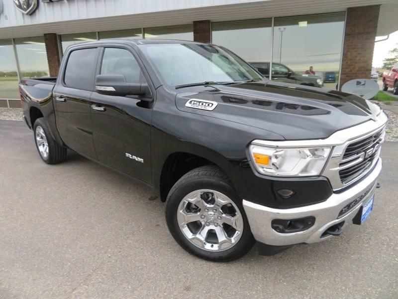 New 2019 RAM All-New  1500 Big Horn 4x4 4dr Crew Cab 5.6 ft. SB Pickup