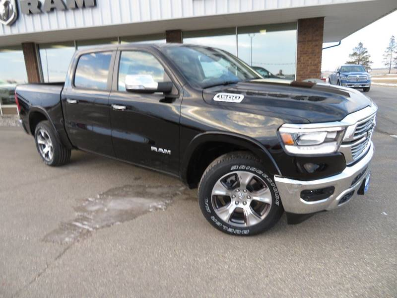 New 2019 RAM All-New  1500 Laramie 4x4 4dr Crew Cab 5.6 ft. SB Pickup