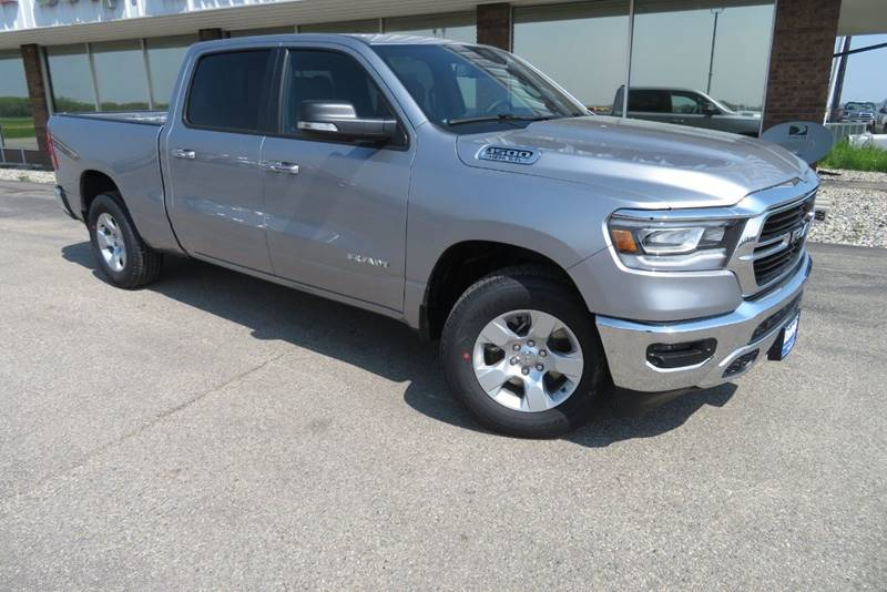 New 2019 RAM All-New 1500 Big Horn 4x4 4dr Crew Cab 6.4 ft. SB Pickup