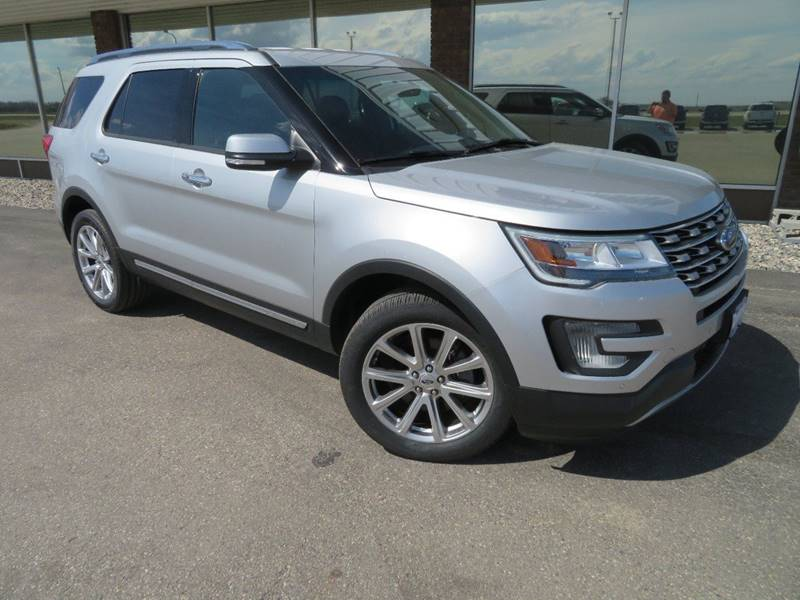 Pre-Owned 2017 Ford Explorer Limited AWD 4dr SUV