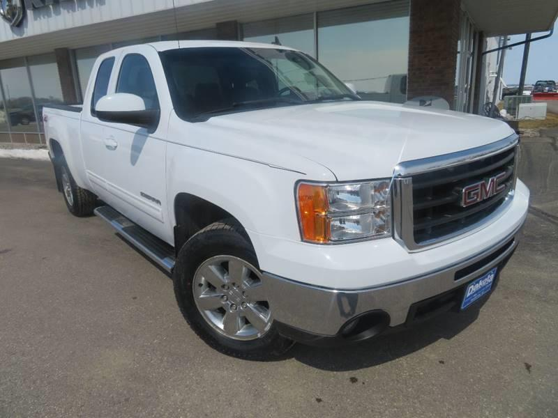 Pre-Owned 2010 GMC Sierra 1500 SLT 4x4 4dr Extended Cab 6.5 ft. SB