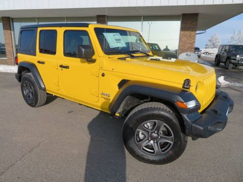New 2019 JEEP Wrangler Sport S 4x4 4dr SUV